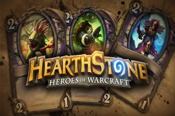 Tres cartas de Hearthstone: Heroes of Warcraft