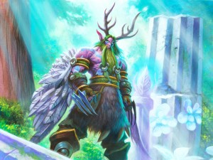 "Postal: Malfurion Tempestira ""Hearthstone: Heroes of Warcraft"""
