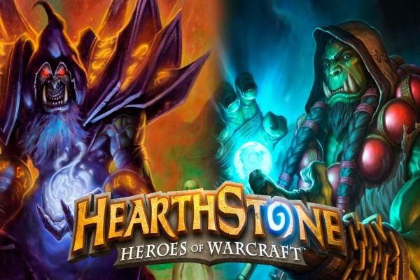 "Gul'Dan y Thrall ""Hearthstone: Heroes of Warcraft"""