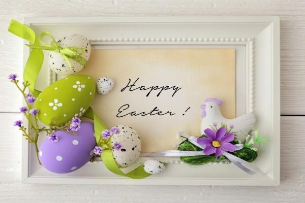 Bonito cuadro para la celebración de Pascua