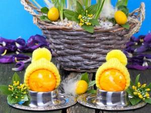 Postal: Celebrando la festividad Pascua