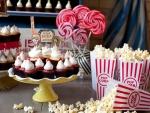 Cupcakes y palomitas