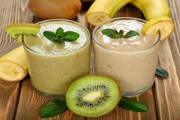 Batido de Kiwi y de plátano