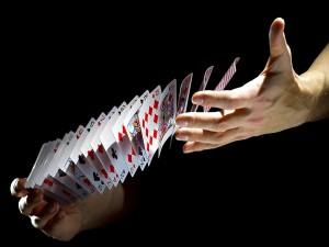 Mezclando cartas