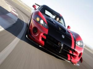 Pilotando un Dodge Viper