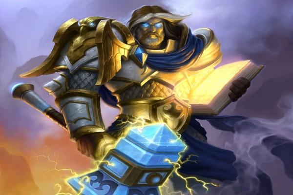 """Uther el Paladín de """"Hearthstone: Heroes of Warcraft"""""""