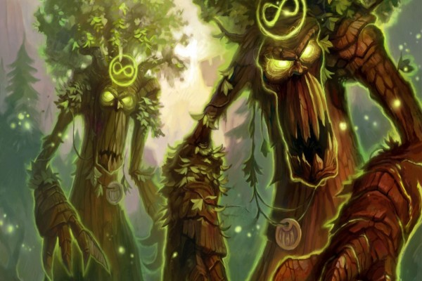 Alma del bosque, carta del Druida (Hearthstone)