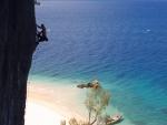 Escalada en la isla de Nosy Anjombalova, Madagascar