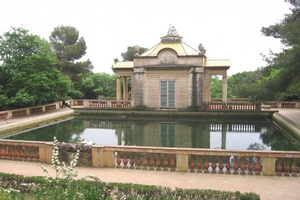 Fuente de los Delfines (Laberinto de Horta, Barcelona)