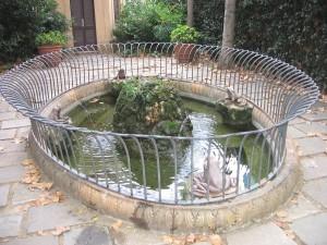 Fuente de las Ranas (Jardines de la Tamarita, Barcelona)