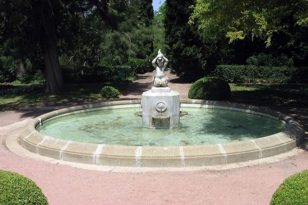 Fuente de los Tritones (Jardines de Joan Maragall)