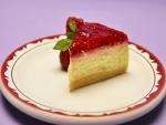 Cheesecake con frambuesas
