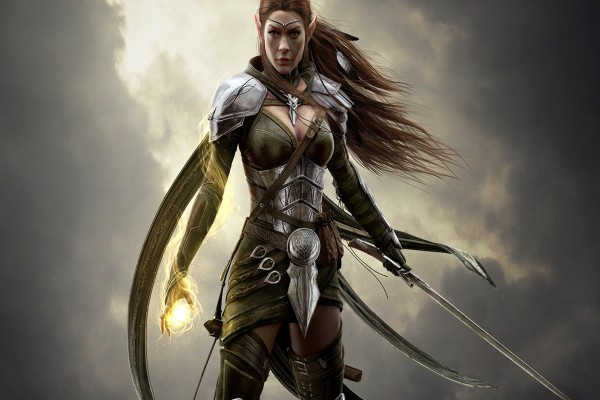 Elfa, personaje de The Elder Scrolls