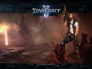 "Jim Raynor en ""StarCraft II"""