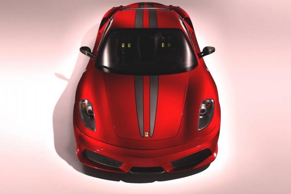 Frontal de un Ferrari F430