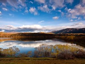 Lago Hayes (Queenstown, Nueva Zelanda)