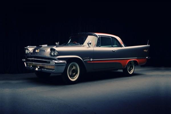 Un bonito coche clásico