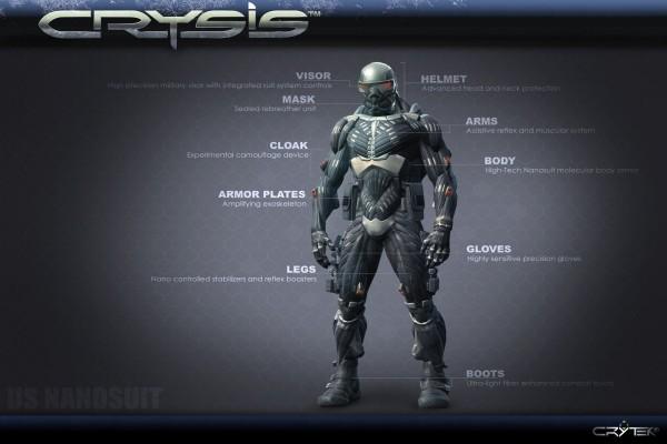 "Traje NanoSuit ""Crysis"""