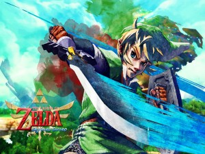 "Link en ""The Legend of Zelda: Skyward Sword"""