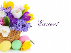 Postal: ¡Feliz Pascua!