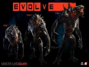 La evolución de Goliath (Evolve)