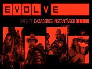 """Pack de cazadores en """"Evolve"""""""