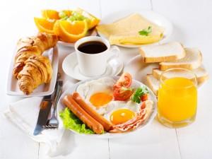 Un desayuno variado