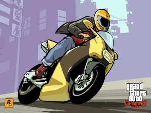 "Moto en ""Grand Theft Auto: Chinatown Wars"""