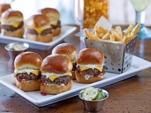 Deliciosas hamburguesas