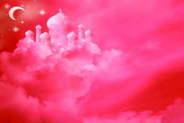 Palacio Entre Nubes Rosas (58399