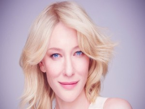 Cate Blanchett con un maquillaje natural