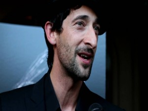 El actor Adrien Brody