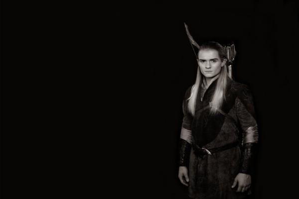 Orlando Bloom interpretando a Legolas (El Señor de los Anillos)
