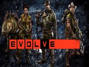 """Monstruo y cazadores de """"Evolve"""""""