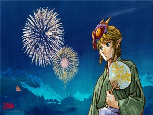 "Link en ""The Legend of Zelda: Majora's Mask"""