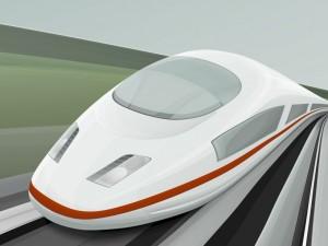 Tren bala en 3D