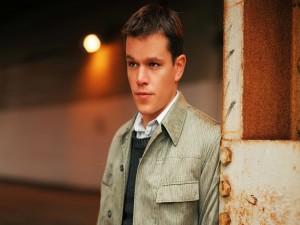 Un joven Matt Damon