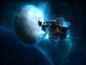 """Naves de """"StarCraft II"""""""