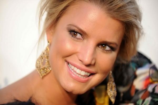Bonita sonrisa de Jessica Simpson