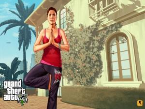 """Amanda, personaje de """"Grand Theft Auto V"""""""