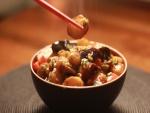 Cuenco de comida oriental