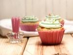 Cupcakes para celebrar un cumpleaños
