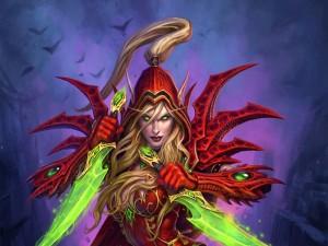 "Valeera, personaje de ""Hearthstone: Heroes of Warcraft"""