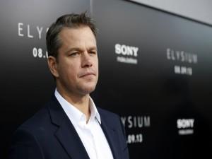 """Matt Damon promocionando """"Elysium"""""""