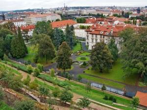 Vista parcial de Praga (República Checa)
