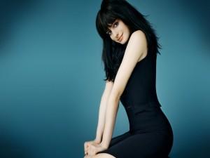 La guapa actriz Anne Hathaway
