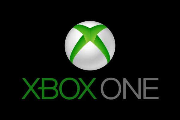 Logo de Xbox One en un fondo negro