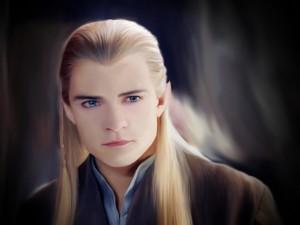 Orlando Bloom como Legolas (elfo del Señor de los Anillos)