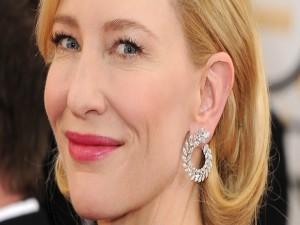 La guapa actriz Cate Blanchett