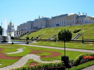 Visitando el Palacio Peterhof (San Petersburgo)